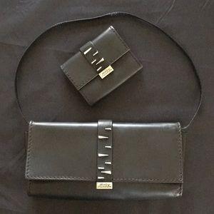 Handbags - Harley Davidson Black Leather Set
